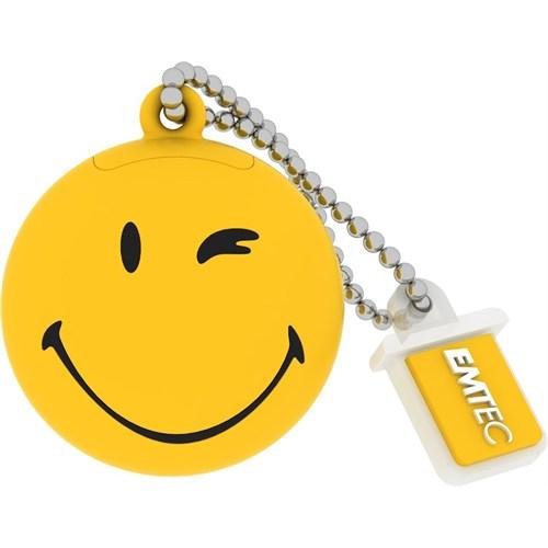 Emtec Sw100 8Gb Usb Bellek Smiley Yellow