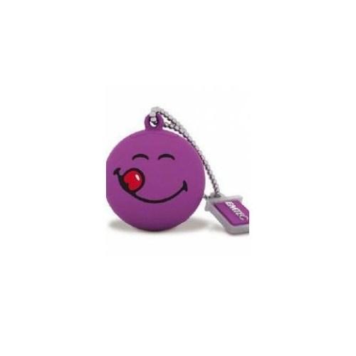 Emtec Sw101 8Gb Usb Bellek Smiley Purple