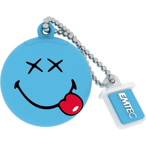 Emtec Sw103 8Gb Usb Bellek Smiley Blue