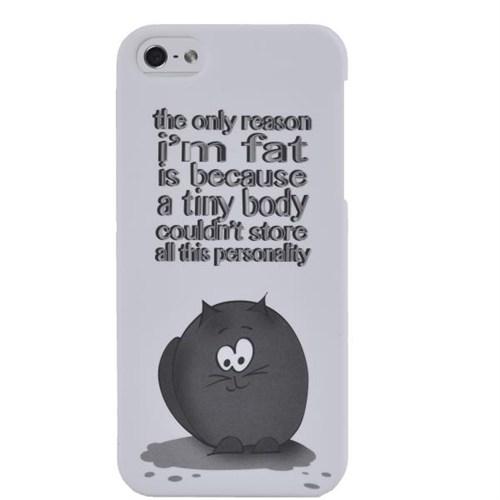 What's Your Case Fat Personality İphone 5 Telefon Kılıfı