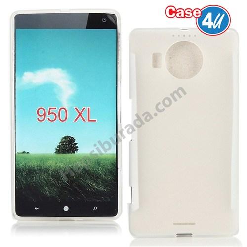 Case 4U Microsoft Lumia 950 Xl Ultra İnce Silikon Kılıf Şeffaf