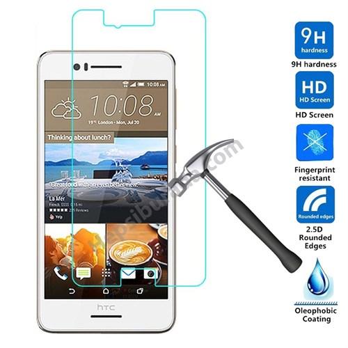Case 4U Htc Desire 728G Dual Sim Kırılmaz Cam Ekran Koruyucu