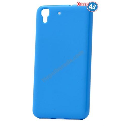 Case 4U Huawei Y6 Soft Silikon Kılıf Mavi