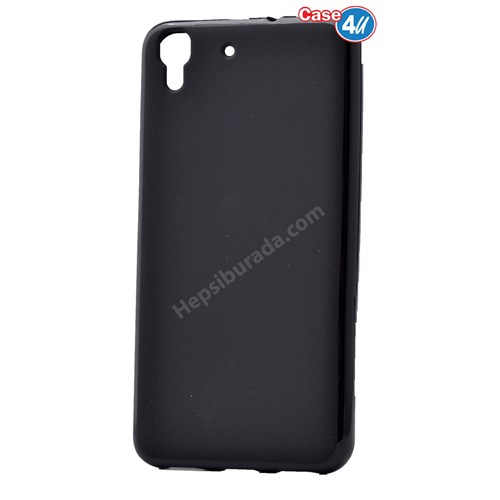 Case 4U Huawei Y6 Soft Silikon Kılıf Siyah