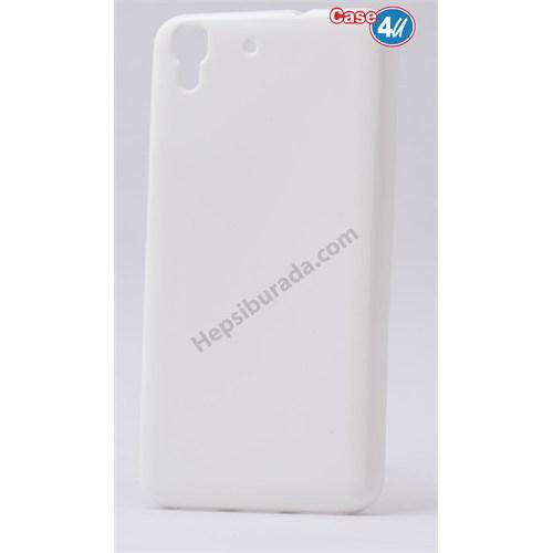 Case 4U Huawei Y6 Soft Silikon Kılıf Şeffaf