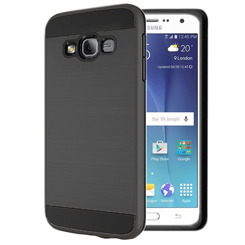 Microsonic Samsung Galaxy J5 Kılıf Slim Heavy Duty Siyah