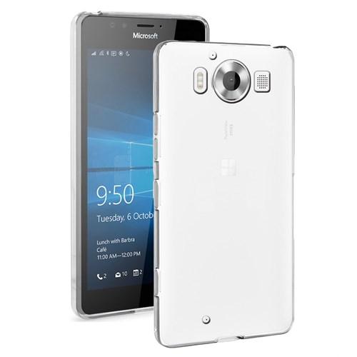 Microsonic Microsoft Lumia 950 Clear Soft Şeffaf Kılıf