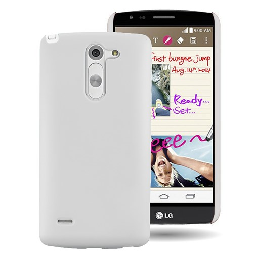 Microsonic Lg G3 Stylus Kılıf Premium Slim Beyaz