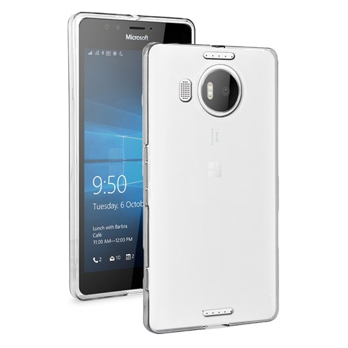 Microsonic Microsoft Lumia 950 Xl Clear Soft Şeffaf Kılıf