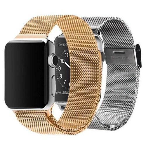 Markacase Apple Watch 42 Mm Bakır Renk Paslanmaz Çelik Kayış Kordon