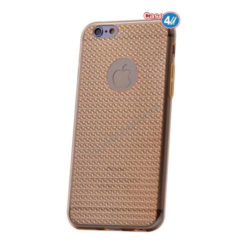 Case 4U Apple İphone 5S Elgance Silikon Kılıf Altın