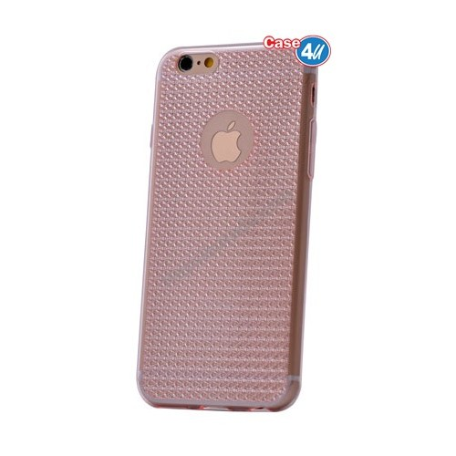 Case 4U Apple İphone 5S Elgance Silikon Kılıf Pembe