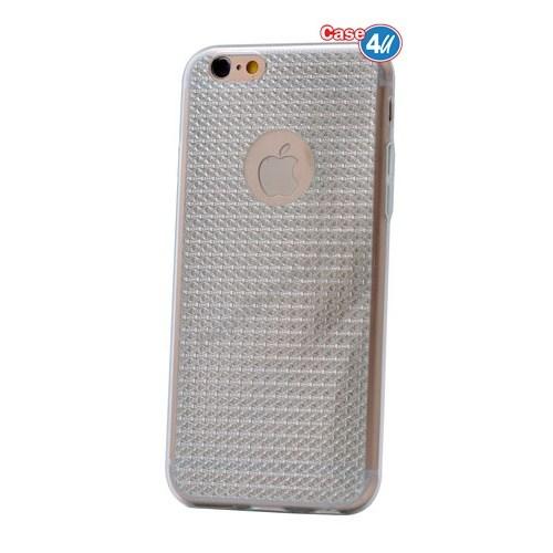 Case 4U Apple İphone 5S Elgance Silikon Kılıf Şeffaf