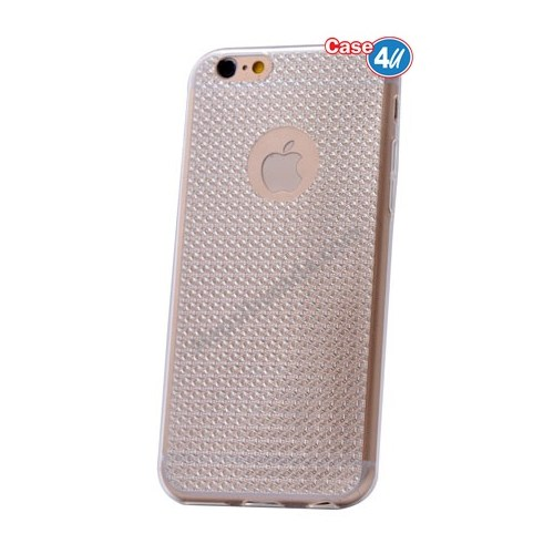Case 4U Apple İphone 6S Plus Elgance Silikon Kılıf Şeffaf