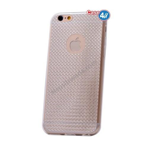 Case 4U Apple İphone 6S Plus Elgance Silikon Kılıf Şeffaf