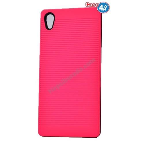 Case 4U Sony Xperia Z5 You Koruyucu Kapak Pembe