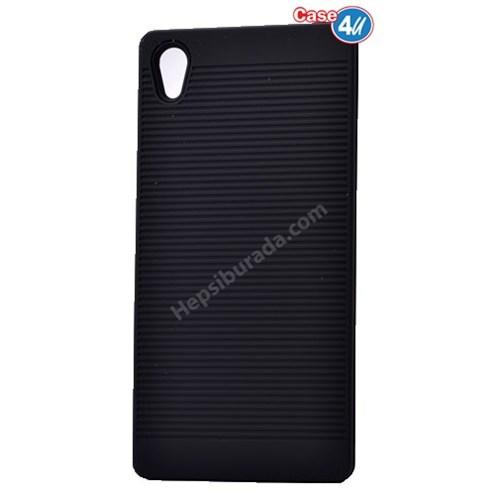 Case 4U Sony Xperia Z5 Premium You Koruyucu Kapak Siyah*