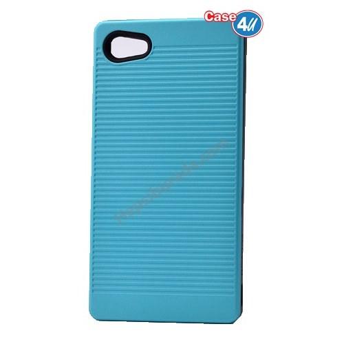 Case 4U Sony Xperia Z5 Compact You Koruyucu Kapak Mavi