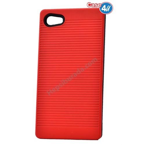 Case 4U Sony Xperia Z5 Compact You Koruyucu Kapak Kırmızı
