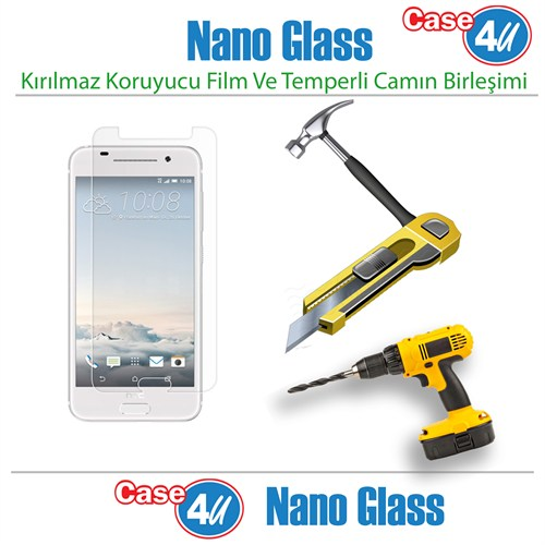 Case 4U Htc One A9 Nano Glass Ekran Koruyucu