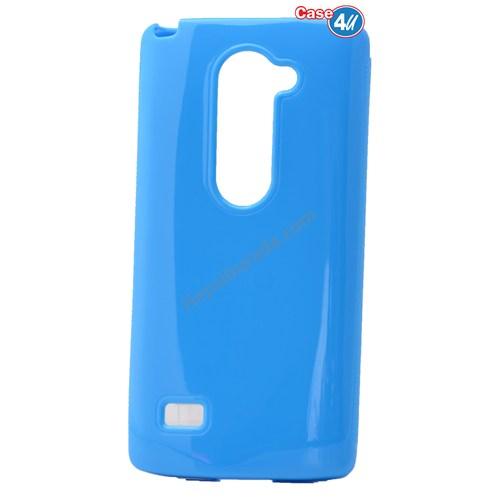 Case 4U Lg Leon Soft Silikon Kılıf Mavi