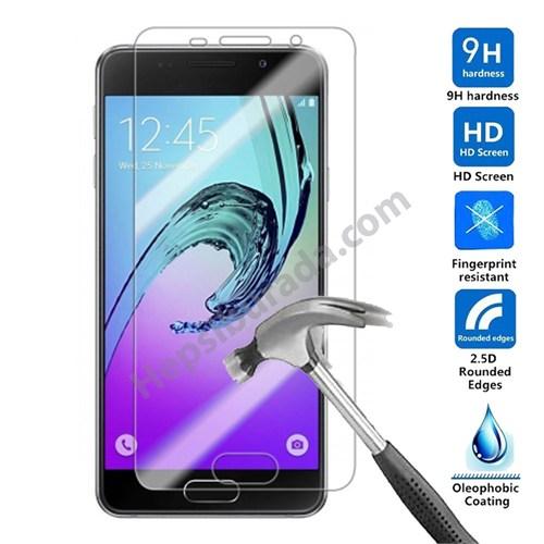 Case 4U Samsung A310 Galaxy A3 Kırılmaz Cam Ekran Koruyucu