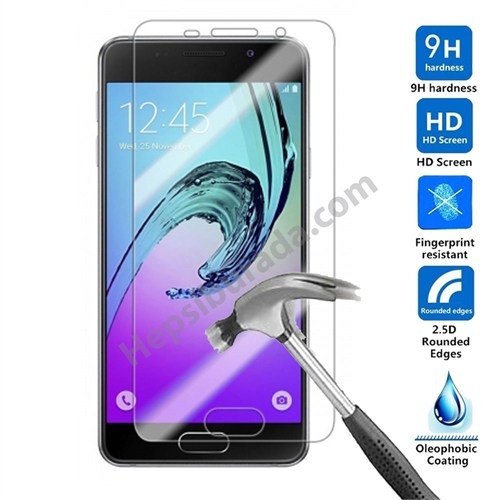 Case 4U Samsung A710 Galaxy A7 Kırılmaz Cam Ekran Koruyucu