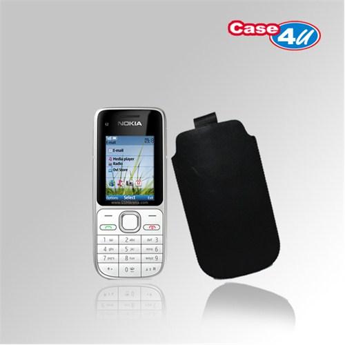 Case 4U Nokia C2-01 Siyah Kılıf