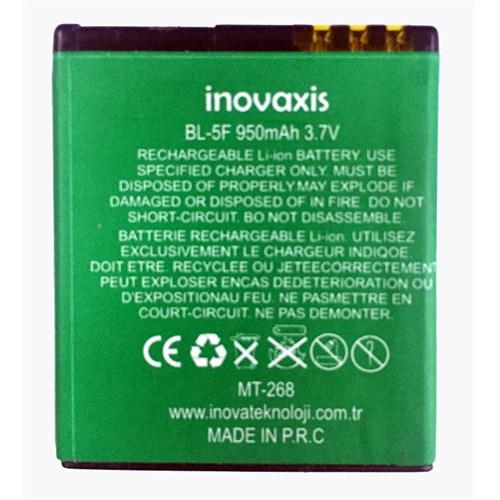 Inovaxis Nokia 5F N95/E65/N93i/N96 Batarya