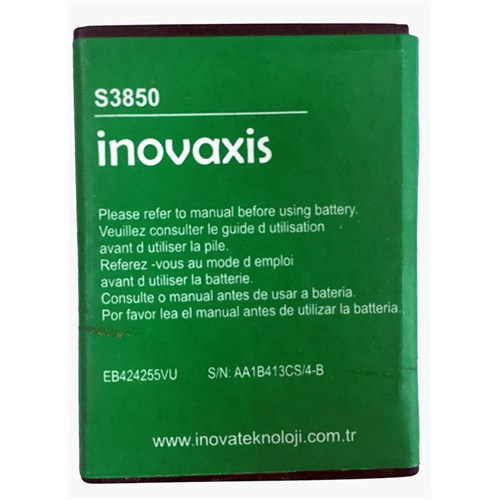 Inovaxis Samsung 3850-3350 C5530 Batarya