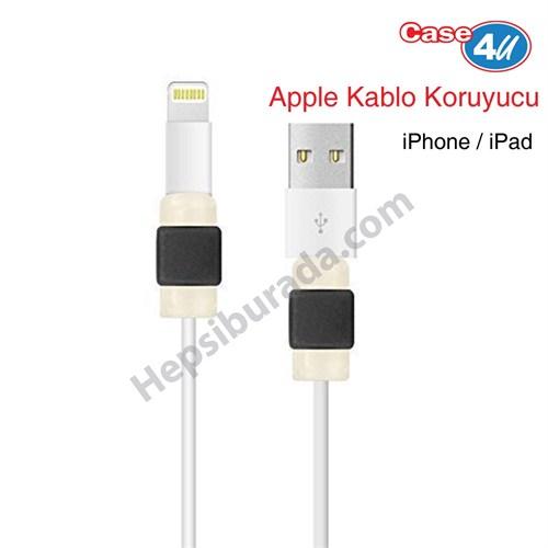 Case 4U Apple Kablo Koruyucu Siyah
