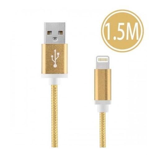 Sfm Lightning Usb Örgü Kablo 1.5Mt. Gold