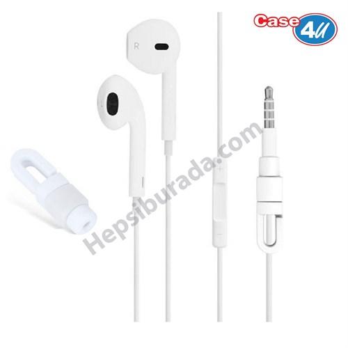 Case 4U Apple Kulaklık Koruyucu Beyaz