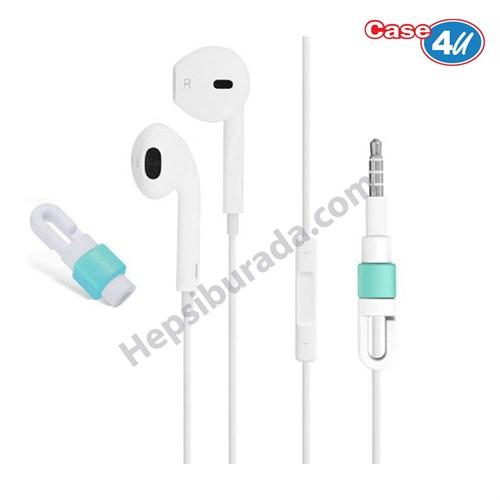Case 4U Apple Kulaklık Koruyucu Mavi