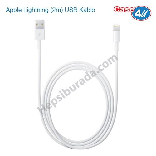 Case 4u Apple iPhone 5/5s/5c/6/6 Plus/6S/6S Plus Lightning (2m) Şarj & Data Kablosu