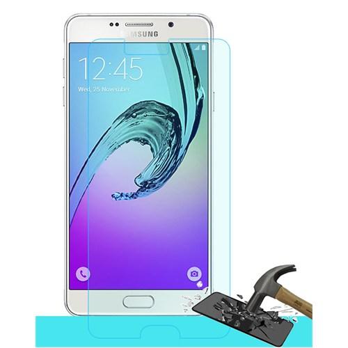 Microsonic Samsung Galaxy A7 2016 Temperli Cam Ekran Koruyucu Kırılmaz Film