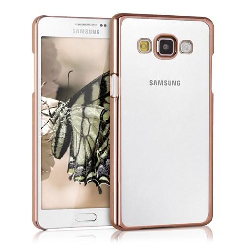 Microsonic Samsung Galaxy A5 Kılıf Flexi Delux Gold