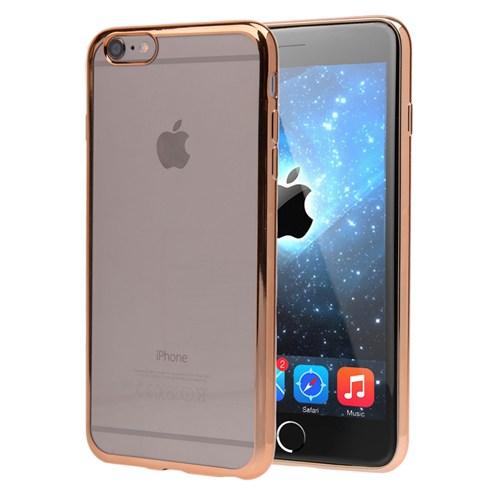 Microsonic Apple İphone 6S Plus Kılıf Flexi Delux Gold