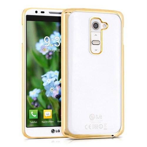 Microsonic Lg G2 Kılıf Flexi Delux Gold