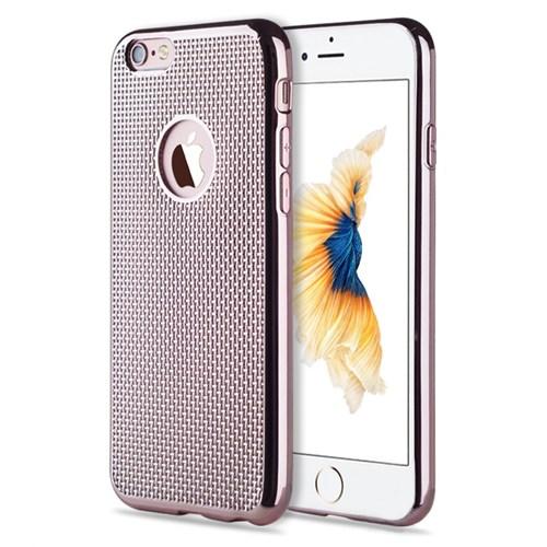 Microsonic İphone 6 Plus Kılıf Electroplate Soft Rose Gold
