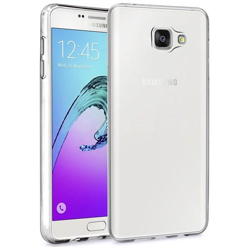 Microsonic Samsung Galaxy A7 2016 Kılıf Transparent Soft Beyaz