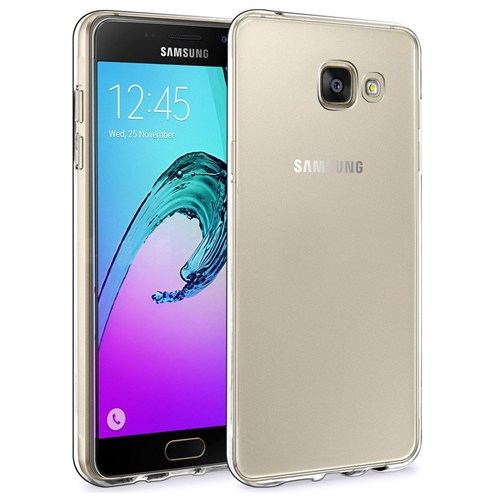 Microsonic Samsung Galaxy A9 2016 Kılıf Transparent Soft Beyaz