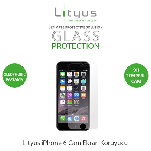 Lityus Apple iPhone 6 Cam Ekran Koruyucu - AKLGPIP6