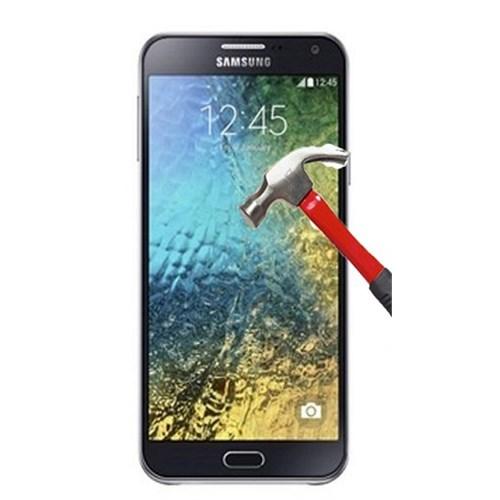 Energy Samsung Galaxy E7 Kırılmaz Temperli Cam Ekran Koruyucu Cam
