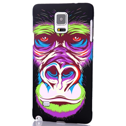 CoverZone Samsung Galaxy Note 4 Kılıf Resimli Kapak Goril