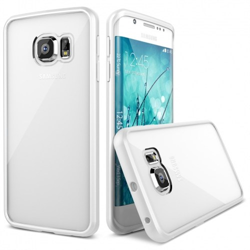 Verus Samsung Galaxy S6 Edge Kılıf Crystal Mixx Beyaz