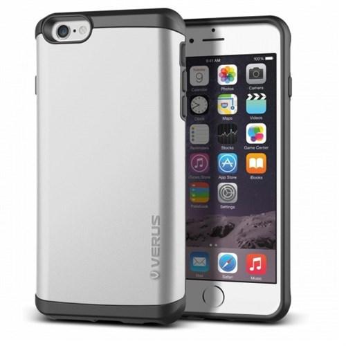 Verus İphone 6S Plus Kılıf Damda Veil Açık Gri