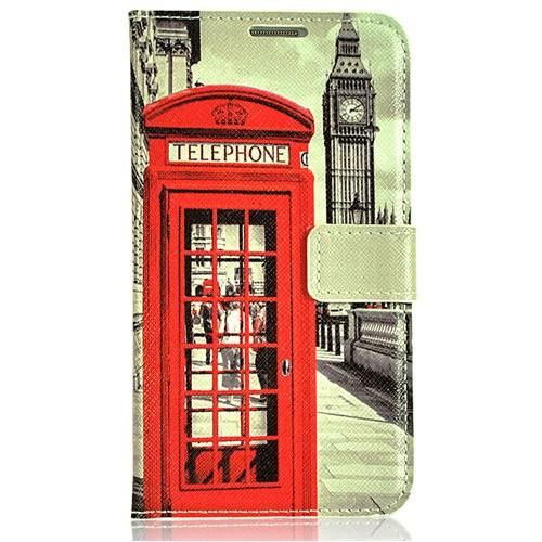 CoverZone Samsung Galaxy Note 3 Neo Kılıf Kapaklı Londra Telefon Kulübesi