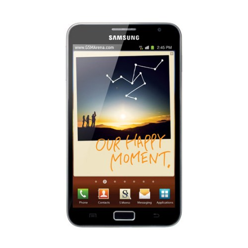 CoverZone Samsung Galaxy Note 1 N7000 Ekran Koruma Filmi