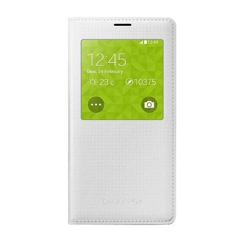 Samsung Galaxy S5 Flip Cover Kılıf Beyaz EF-CG900BWEGWW - 'EF-CG900BHEGWW'